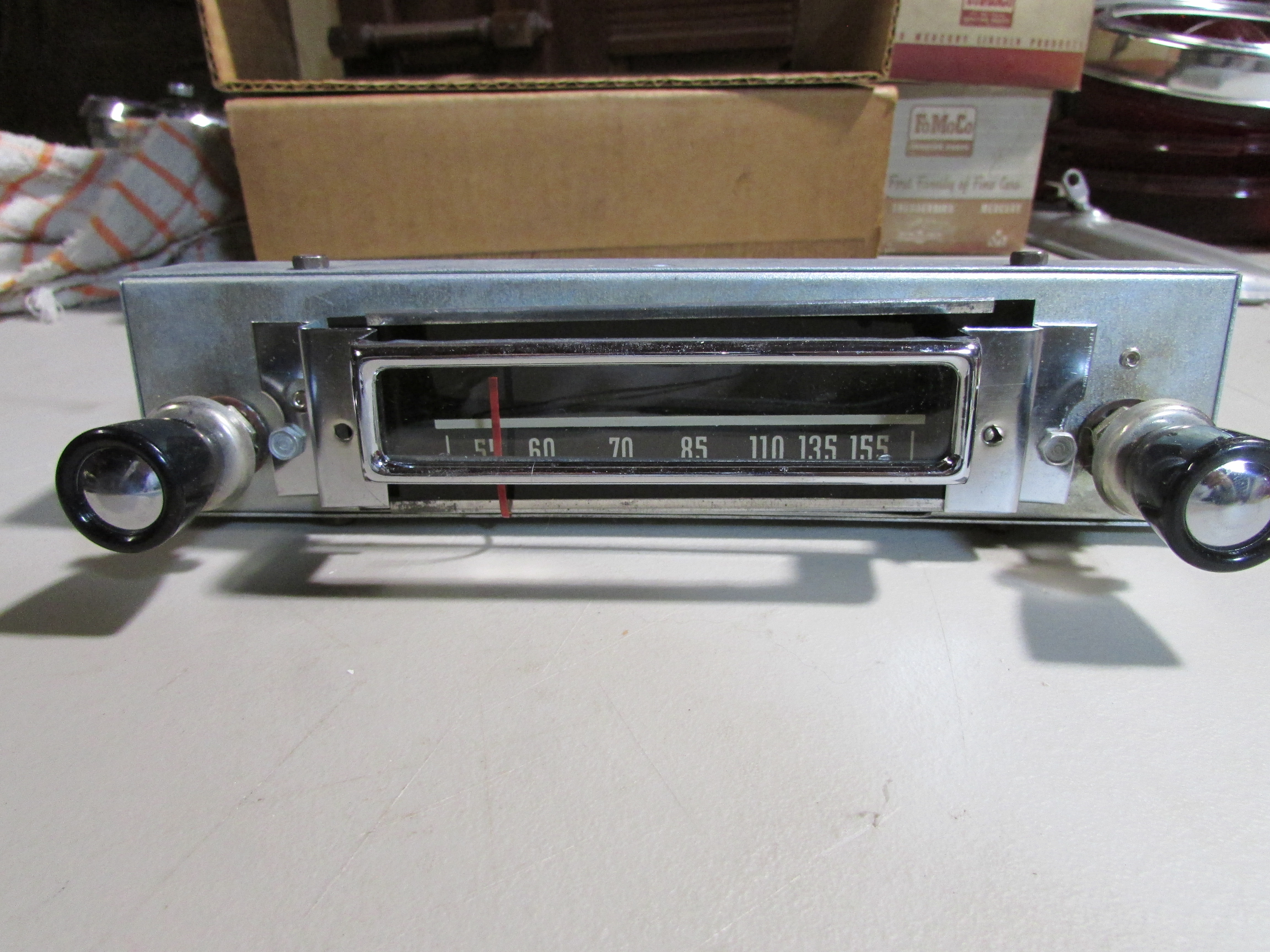 1951 Ford Manual Radio Control Head